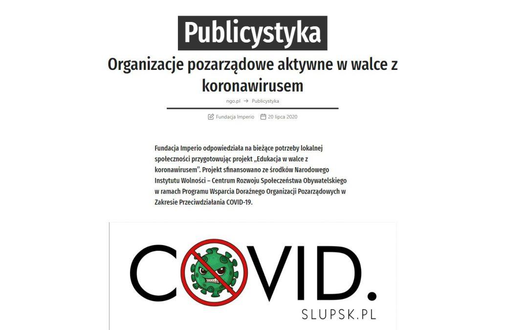 Portal NGO.pl o Fundacji Imperio