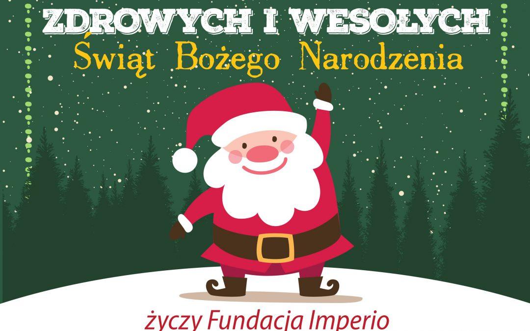 Życzenia świąteczne dla Przyjaciół Fundacji